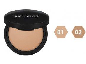 Skeyndor Skincare Makeup – kompaktní pudr s vitamínem C 12,58g
