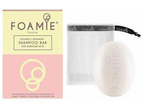 Foamie Shampoo Bar Floral Flair – tuhý šampon pro poškozené vlasy 83g