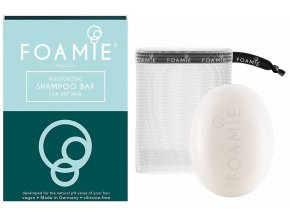 Foamie Shapoo Bar Aloe Spa – hydratační tuhý šampon pro suché vlasy 83g