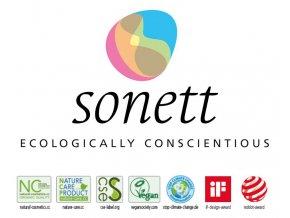 Sonett – stáčený tekutý prostředek na nádobí citron 100g