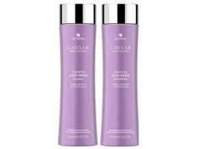 Alterna Caviar Smoothing Anti-Frizz Duo Set - šampon 250ml + kondicionér 250ml