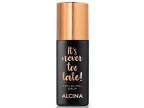 Alcina It's Never Too Late – pleťové sérum proti vráskám 30ml