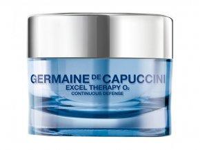 Germaine de Capuccini EXCEL THERAPY O2 Continuous Defense Cream - krém proti vráskám pro suchou pleť 50ml