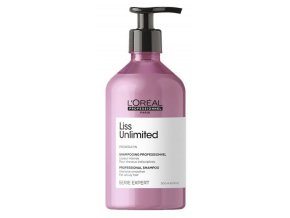 Loréal EXPERT Liss Unlimited Shampoo - uhlazující šampon pro nepoddajné a krepaté vlasy