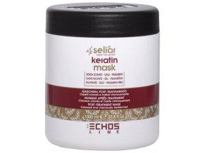Echosline SELIAR Keratin – keratinová maska pro barvené a chemicky poškozené vlasy