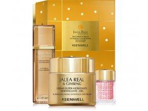 Keenwell JALEA REAL Set - pleťové sérum 40ml + hydratační denní krém 80ml +  gel na oční okolí 15ml