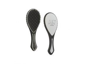 AIR MOTION Brush White – bílý revoluční kartáč, který netahá vlasy 1ks