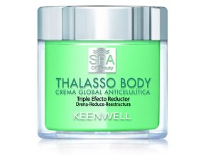Keenwell SPA OF BEAUTY Thalasso Anticellulite Global Cream Triple Reducing Effect – krém proti celulitidě s trojitým účinkem 270ml