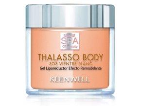 Keenwell SPA OF BEAUTY Thalasso SOS Flat Belly Remodeling & Lipo Gel – SOS remodelační gel pro ploché bříško 270ml