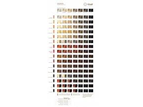 Khadi rostlinná barva na vlasy TMAVĚ HNĚDÁ 100g