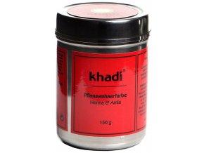 Khadi rostlinná barva na vlasy Khadi HENNA & AMLA 150g