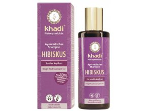 Khadi - šampon IBIŠEK pro citlivou pokožku hlavy
