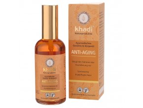Khadi pleťový a tělový olej Anti-Aging proti stárnutí pleti 100ml