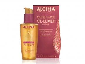 Alcina - olej na suché a narušené vlasy 50ml