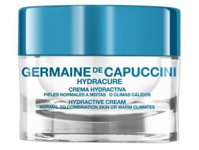 Germaine de Capuccini Hydracure Hydractive Cream Normal To Combination Skin Or Warm Climates - hydroaktivní krém pro normální a smíšenou pleť teplé klima 50ml