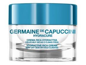 Germaine de Capuccini Hydracure Rich - hydratační krém pro velmi suchou pleť a chladné klima 50ml
