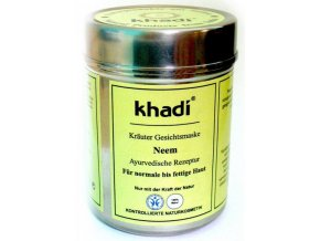 Khadi - bylinná pleťová maska NEEM 50g