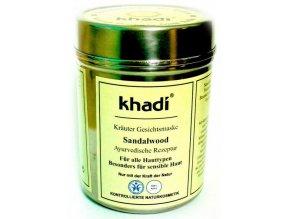 Khadi - bylinná pleťová maska SANTALOVÉ DŘEVO 50g