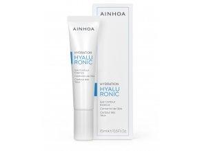 Ainhoa Hyaluronic Eye Contour Essence - lehký hydratační krém na oční okolí s kyselinou hyaluronovou 15ml