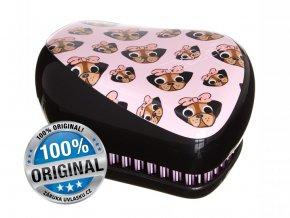 Tangle Teezer Compact Pug Love - kompaktní kartáč na vlasy