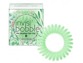 Invisibobble ORIGINAL Secret Garden Forbidden Fruit - gumička do vlasů světle zelená 3ks