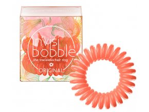 Invisibobble ORIGINAL Secret Garden Sweet Clementine - gumička do vlasů meruňková 3ks