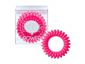 Invisibobble POWER Pinking Of You - gumička do vlasů růžová 3ks