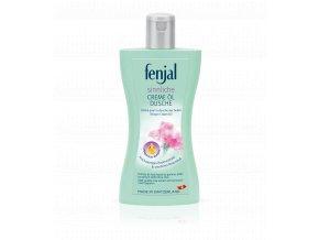 Fenjal Rose Shower Cream - krémový sprchový gel s vůní růže 200ml