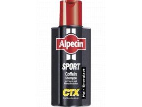 Alpecin Hair Energizer Sport Shampoo CTX - kofeinový šampon proti padání vlasů 250ml