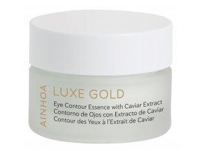 Ainhoa Luxe Gold – gelový krém na oční okolí s kaviárem pro zralou pleť 15ml