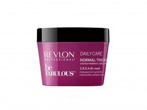 Revlon Professional BE FABULOUS - pečující maska pro normální a silné vlasy 200ml