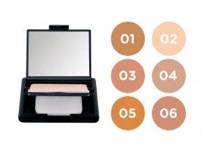 NEE Compact Foundation Vitamin E - kompaktní make-up s vitamínem E 10g