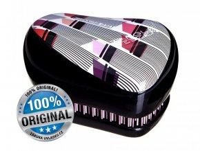 Tangle Teezer Compact Lulu Guinness - kompaktní kartáč na vlasy