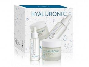 Ainhoa HYALURONIC Set - hydratační krém pro suchou pleť 50ml + hydratační gelový fluid 50ml
