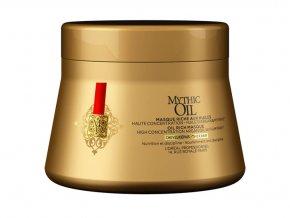 Loréal Mythic Oil Masque For Thick Hair - olejová maska pro silné a nepoddajné vlasy 200ml