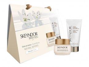 Skeyndor Natural Defence Sada - hydratační krém 24H 50ml + noční protivráskový krém 50ml