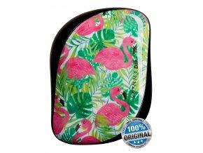 Tangle Teezer Compact Skinny Dip Palm Print kompaktní kartáč na vlasy 1ks