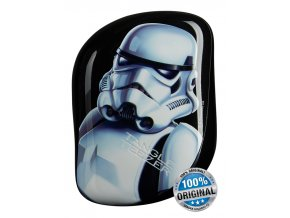 The Star Wars Stormtrooper compact styling hairbrush