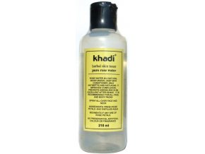Khadi - pleťová Růžová voda 210ml