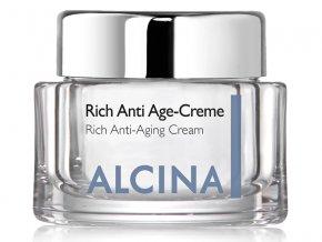 Alcina Rich Anti Age Cream - pěsticí krém proti vráskám pro suchou pleť 50ml