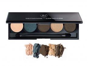 Trending 5-Eyeshadow Palette - Germaine de Capuccini Lounge - paletka pěti trendy odstínů s aplikátorem 7g