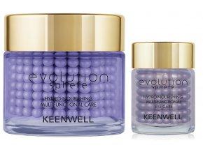 Keenwell Evolution sphere Nourishing Výživný krém 80 ml + Krém na oční okolí 15 ml dárková sada