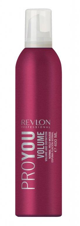 Revlon Professional PROYOU Volume Styling Mousse - silná pěna pro objem vlasů 400ml