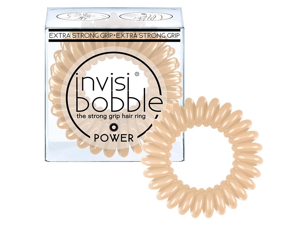 Invisibobble Power To Be Or Nude - gumička do vlasů tělová 3 ks