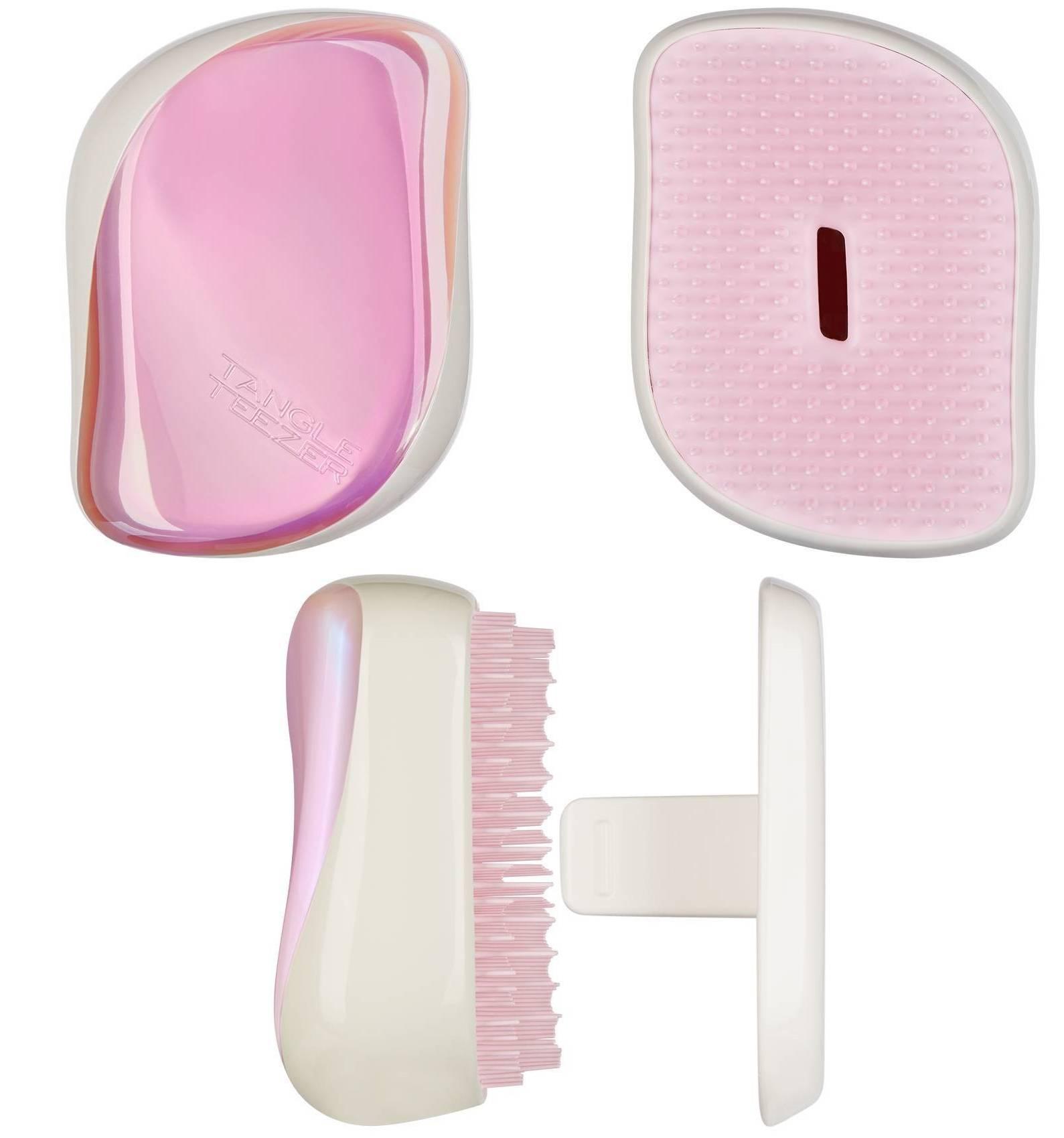 Tangle Teezer Compact Styler – kompaktní kartáč na vlasy (různé barvy) Barva: Holographic