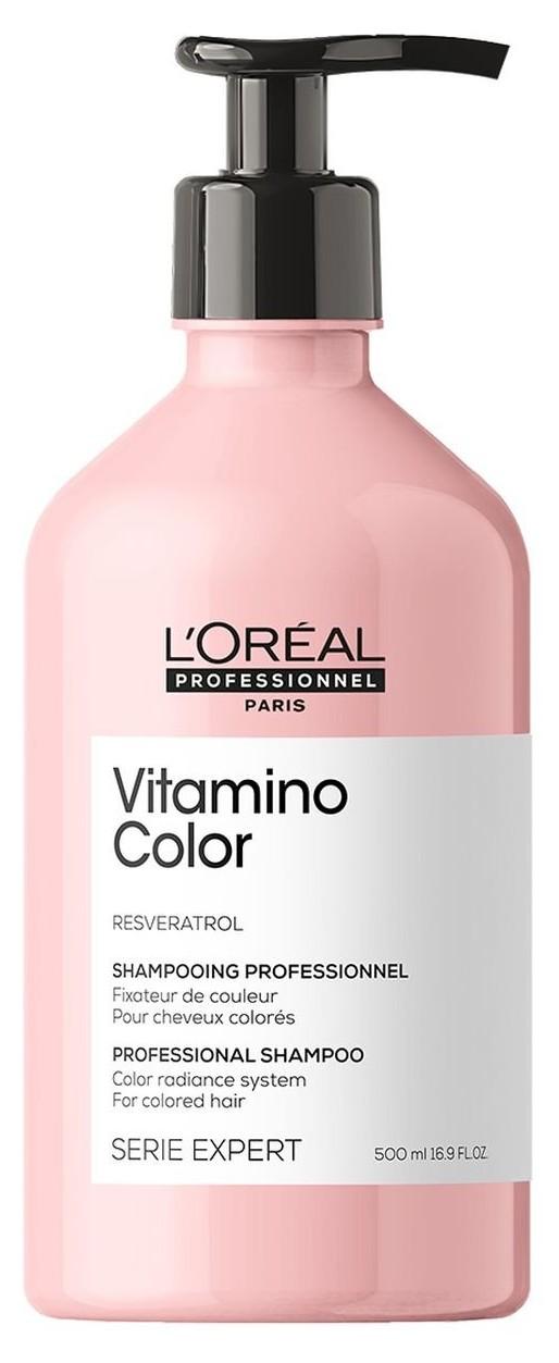 Loréal Professionnel Expert Vitamino Color Resveratrol - šampon pro barvené vlasy 500ml