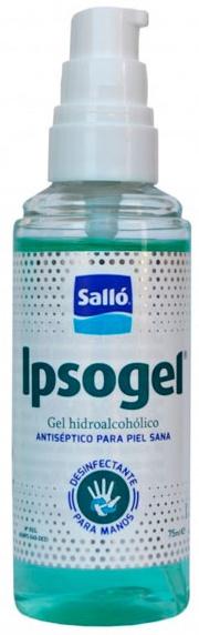 Sallo Ipsogel - dezinfekční gel na ruce 75ml