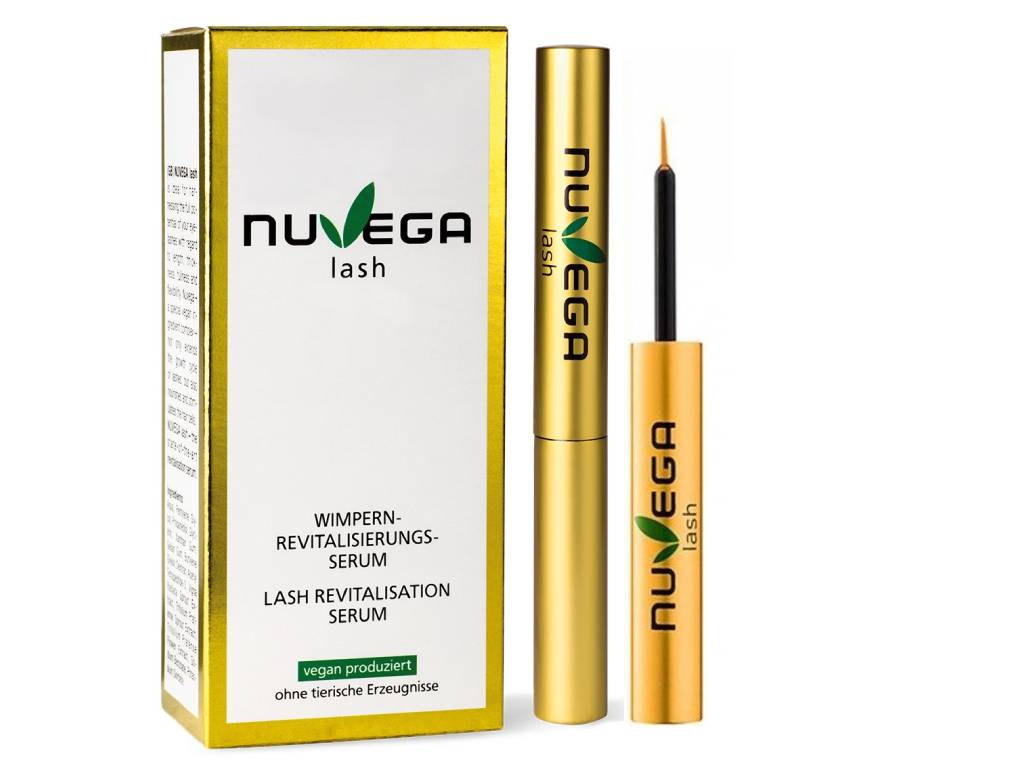 Nuvega Lash - veganské růstové sérum na řasy a obočí 3ml
