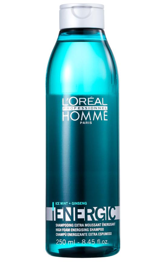 Loréal Professionnel Home Energic Shampoo - pánský šampon pro objem vlasů 250ml