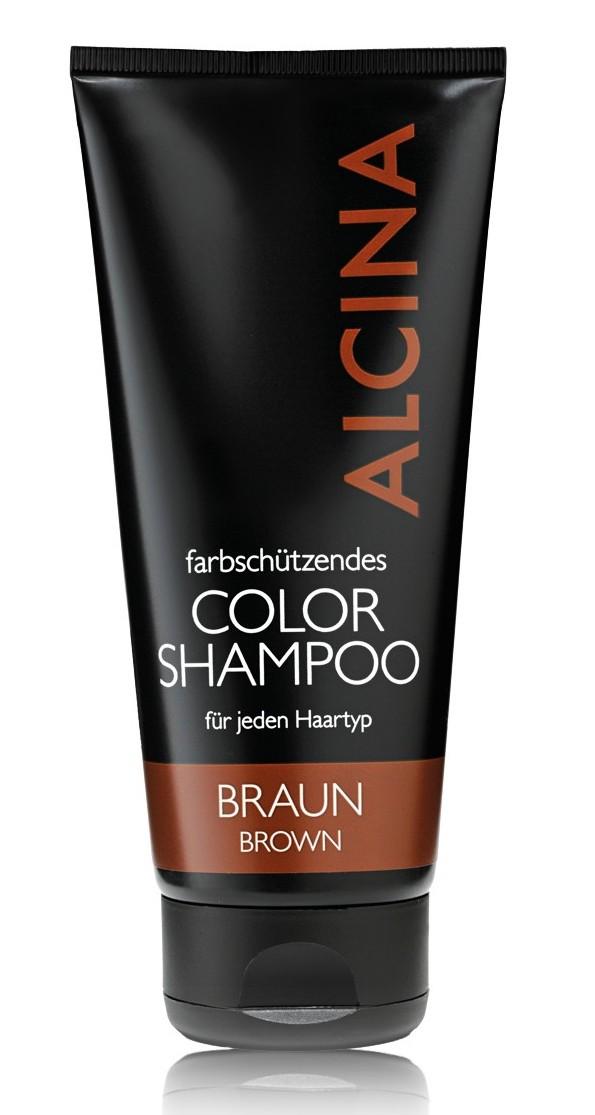 Alcina Color - šampon pro údržbu barvy vlasů 200ml Braun